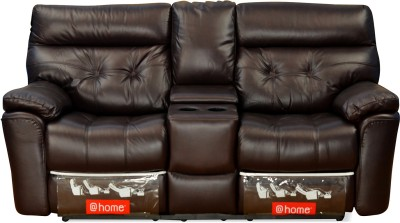 @home by Nilkamal Half-leather Powered Recliners(Finish Color - Brown) at flipkart