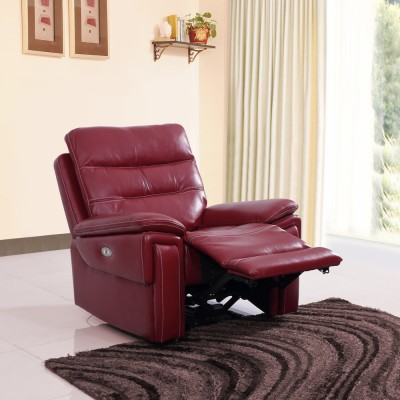 Evok Leatherette Powered Recliners(Finish Color - Red) at flipkart