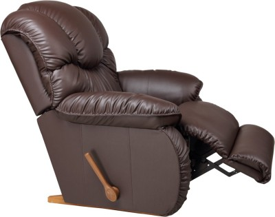 Perfect Homes by Flipkart Wayne 3 Seater Leatherette Recliner(Finish Color - Brown)
