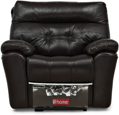 @home by Nilkamal Half-leather Powered Recliners(Finish Color - Black) at flipkart