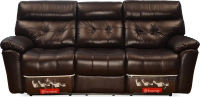 @home by Nilkamal Half-leather Powered Recliners(Finish Color - Dark Brown) at flipkart