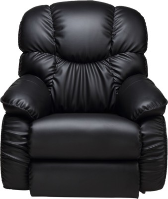 La-Z-Boy Dreamtime Leatherette Manual Rocker Recliners(Finish Color - Black)