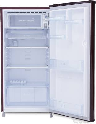 LG 190 L Direct Cool Single Door Refrigerator (GL-B201AMLN, Marine Lily)