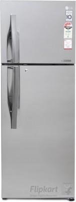 LG 308 L Frost Free Double Door 4 Star Convertible Refrigerator Shiny Steel, GL T322RPZX LG Refrigerators