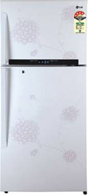 LG-GL-M472GPHM(BW)-Frost-Free-Double-Door-Refrigerator-Bouquet-White