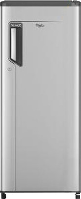 Whirlpool 190 L Direct Cool Single Door 4 Star Refrigerator Silver Metallic, 205 ICEMAGIC CLS 4S