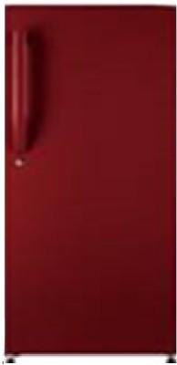 Haier 195 L Direct Cool Single Door Refrigerator(Brushline Red, HRD-1954BR-R/E) at flipkart
