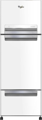 Whirlpool 300 L Frost Free Triple Door Refrigerator(FP 313D PROTTON ROY, Mirror White, 2017)