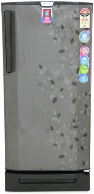 Godrej 190 L Direct Cool Single Door 4 Star Refrigerator with Base Drawer Carbon Leaf, RD EdgePro 190 PD 6.2