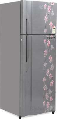 Godrej 350 L Frost Free Double Door 3 Star Refrigerator(Silver Meadow, RT EON 350 P 3.4)