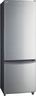 Panasonic 296 L Frost Free Double Door Refrigerator(Shining Silver, NR-BR307VSX1)