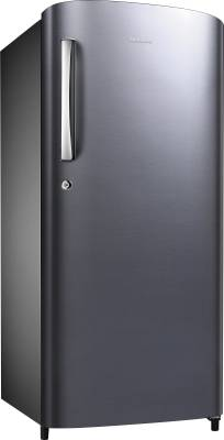 SAMSUNG 192 L Direct Cool Single Door Refrigerator (RR19H1744S8, Elegant Inox)