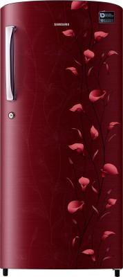 Samsung 212 L Direct Cool Single Door Refrigerator(RR21K274ZRZ, Tender Lily Red)