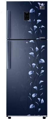 Samsung 272 L Frost Free Double Door Refrigerator (RT30K3983UZ/HL, Tender Lily Blue)