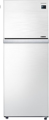 Samsung 415 L Frost Free Double Door Refrigerator(Shiny River, RT42K50681J)