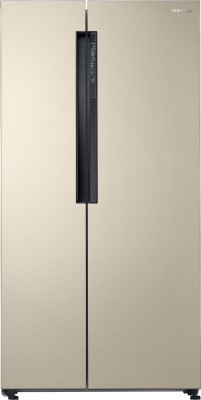 Samsung 674 L Frost Free Side by Side Refrigerator(Starry Gold, RS62K6007FG/TL)