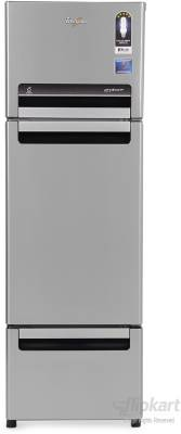 Whirlpool-FP-283D-Royal-Protton-260-Litre-Triple-Door-Refrigerator-(Alpha-Steel)