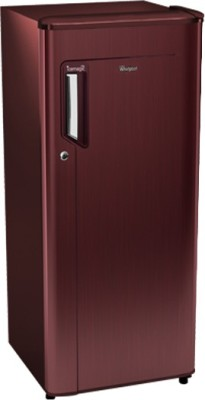 Whirlpool 185 L Direct Cool Single Door 3 Star Refrigerator(Wine Titanium, 200 ICEMAGIC POWERCOOL PRM 3S) at flipkart