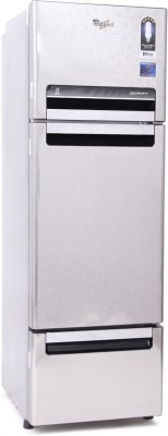 Whirlpool 260 L Frost Free Triple Door Refrigerator(FP 283D PROTTON ROY, Steel Knight, 2017)