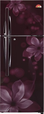LG 260 L Frost Free Double Door Refrigerator(GL-U292JSOL, Scarlet Orchid)