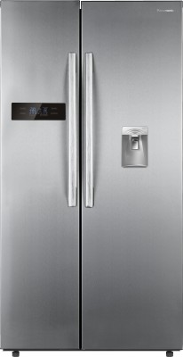 Panasonic 584 L Frost Free Side by Side Refrigerator(Stainless Steel, NR-BS60DSX1)
