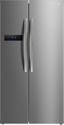 Panasonic 582 L Frost Free Side by Side Refrigerator(Stainless Steel, NR-BS60MSX1)