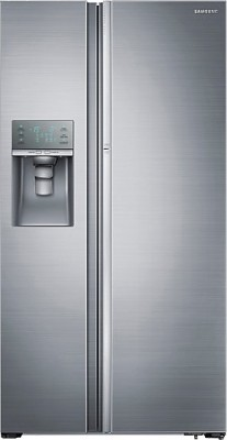 Samsung 838 L Frost Free Side by Side Refrigerator(Solid Metal, RH77H90507H/TL)