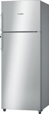 Bosch 347 L Frost Free Double Door Refrigerator(Silver, KDN43VS30I)