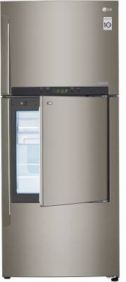 LG 426 L Frost Free Side by Side Refrigerator