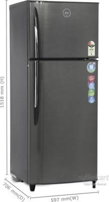 Godrej 330 L Frost Free Double Door Refrigerator (RT EON 330 P 2.3, Inox)
