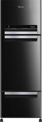 Whirlpool 330 L Frost Free Triple Door Refrigerator(FP 343D ROYAL PROTTON, Mirror Black, 2017)