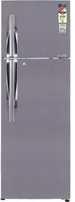 LG GL-M302RPZL.APZZEBN 285 L Double Door Refrigerator (Shiny Steel)