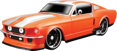 Maisto 1967 Ford Mustang GT(Orange)  available at flipkart for Rs.1600