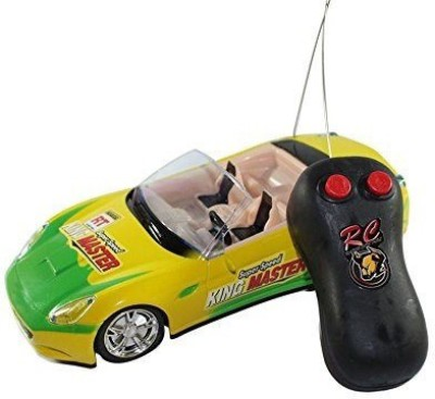 Reyhawk R/c Super First Leader Remote Control Car Scale 1:24 Yellow(Yellow)  available at flipkart for Rs.339