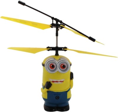 Khareedi Cartoon Toy Infrared Sensor Flying RC Helicopter (Two Eye) - Movement Controled by Hand (Age 8+)(Multicolor)  available at flipkart for Rs.499