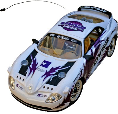 Adraxx New Style Peugeot OVSR Technology RC Car(Purple, White)