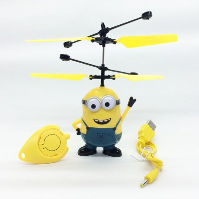 ShopX Minion Helicopter With Infrared Sensor(Yellow, Blue)  available at flipkart for Rs.320