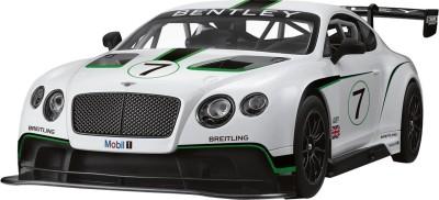 Rastar Playwell BentleyContinentalGT3 RC 1:14(White)