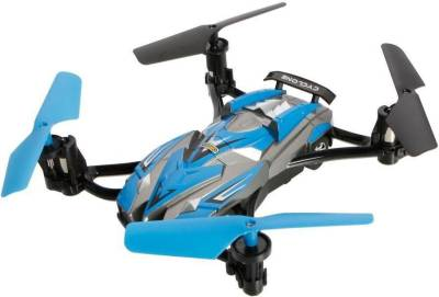 Emob 2 in 1 Road Running and Air flying 6-Axis Gyro System Quadcopter RC car (Blue)