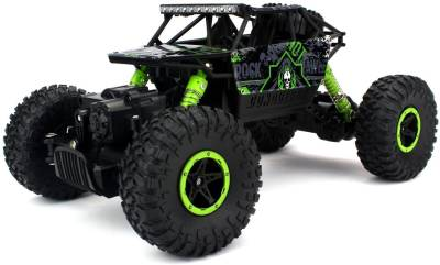 MDS Rock Crawler Rechargeable RC 4WD Rally Car 1:18 Scale 2.4GHz