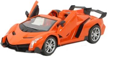 TRD Store 1:16 R/C Lambhorghini Veneno Style Car with Door Open/Close(Orange)  available at flipkart for Rs.749