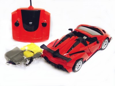 Reyhawk 1:16 R/C Lamborghini Veneno Style Car with Door Open/Close (Red)(Red)  available at flipkart for Rs.799
