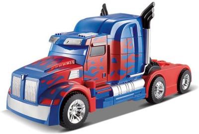 Gift World Transformers 2.4Ghz One-key Transform R/C Optimus Prime Changing Car(Blue)