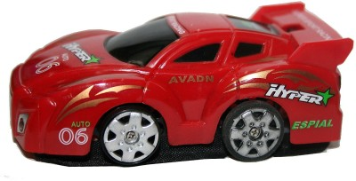 Adraxx Micro Rc Wall Climbing Car Toy(Red)