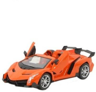 Reyhawk 1:16 R/C Lambhorghini Veneno Style Car with Door Open/Close (Orange)(Orange)  available at flipkart for Rs.745
