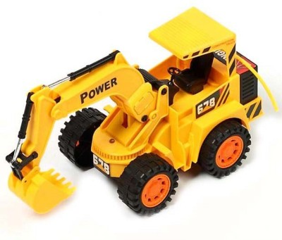 Monster Wireless R/C JCB truck(Yellow)