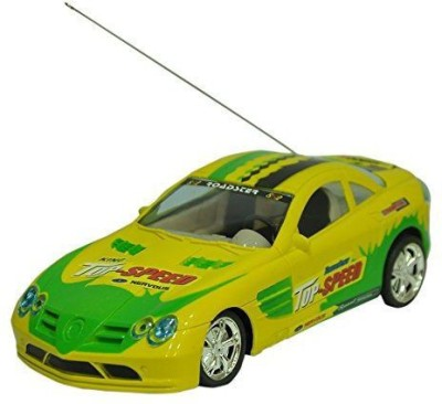 Reyhawk R/C Super First Leader Remote Control Car(Yellow, Green)  available at flipkart for Rs.449