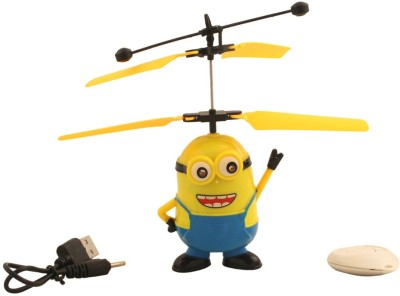 Bestoys Flying Minion Helicopter(Multicolor)  available at flipkart for Rs.320