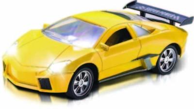 Majorette Full Function Speed Master Car Yellow(Multicolor)  available at flipkart for Rs.549