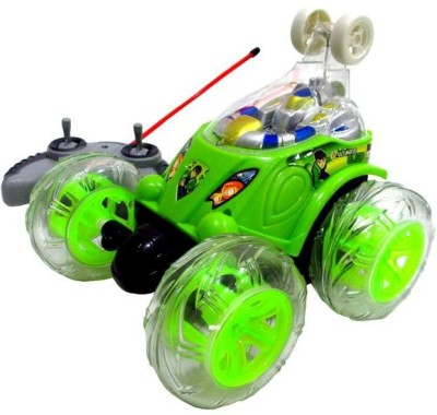 KidsPlay Stunt Car Rechargeable(Green, Blue, Red) Flipkart